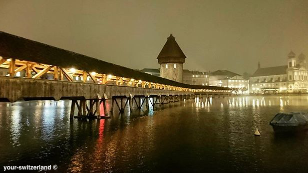 chapel bridge Luzern Switzerland
