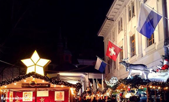 christmas market Luzern Switzerland