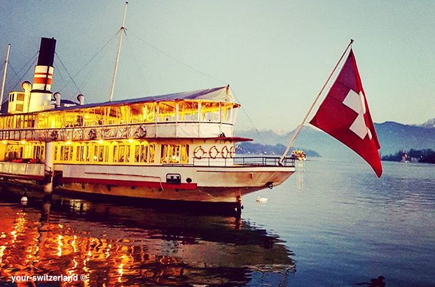steamboat Luzern Switzerland