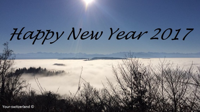 Uetliberg Zuerich happy new year
