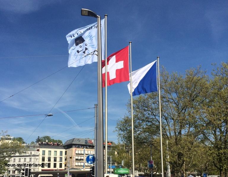 Sechseläuten_Flaggen